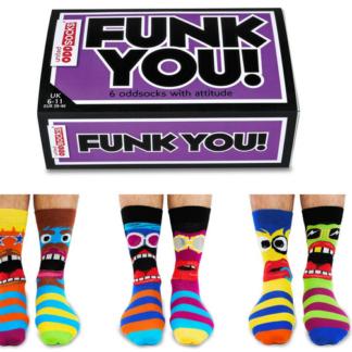 Bunte Socken Gesichter Crazy