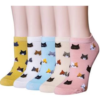 Socken Katzenmotiv lustige Socken